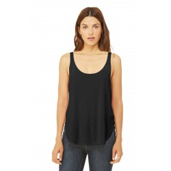 DISCONTINUED BELLA+CANVAS   Women's Flowy Side-Slit Tank. BC8802
