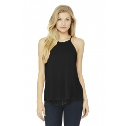 DISCONTINUED BELLA+CANVAS   Women's Flowy High-Neck Tank. BC8809