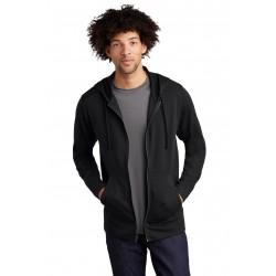 Sport-Tek   PosiCharge   Tri-Blend Wicking Fleece Full-Zip Hooded Jacket ST293