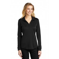 Port Authority   Ladies Silk Touch &  Performance Long Sleeve Polo. L540LS