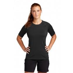 Sport-Tek   Ladies Rashguard Tee. LST470