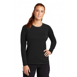 Sport-Tek   Ladies Long Sleeve Rashguard Tee. LST470LS
