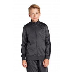 Sport-Tek   Youth Tricot Track Jacket. YST94