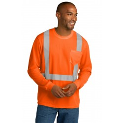 CornerStone   ANSI 107 Class 2 Mesh Long Sleeve Tee. CS201