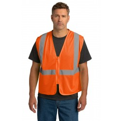 CornerStone   ANSI 107 Class 2 Economy Mesh Zippered Vest. CSV101