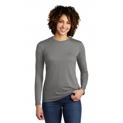 Allmade   Women's Tri-Blend Long Sleeve Tee AL6008