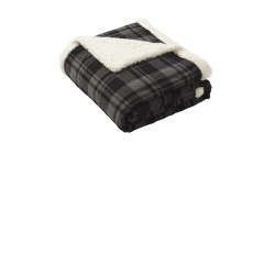 Port Authority Flannel Sherpa Blanket. BP43