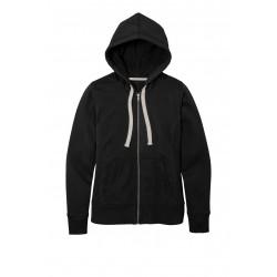 District  Women's Re-Fleece & Full-Zip Hoodie DT8103
