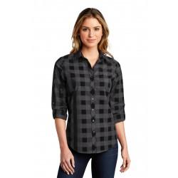 Port Authority   Ladies Everyday Plaid Shirt. LW670