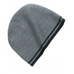 Port & Company  Fine Knit Skull Cap with Stripes.  CP93
