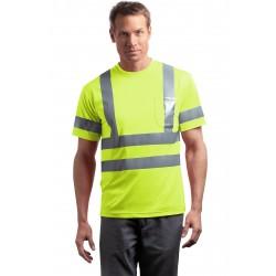 CornerStone  - ANSI 107 Class 3 Short Sleeve Snag-Resistant Reflective T-Shirt. CS408