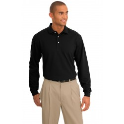 Port Authority  Rapid Dry& Long Sleeve Polo. K455LS