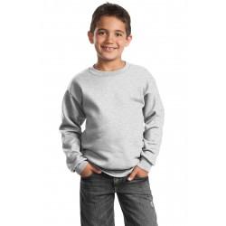 Port & Company  - Youth Core Fleece Crewneck Sweatshirt. PC90Y